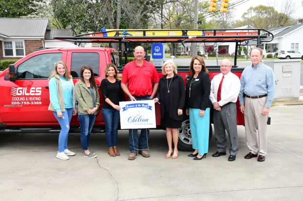 Giles Cooling Heating Is Chamber Business Of Month The Clanton