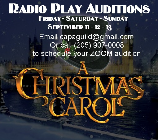 A Christmas Carol Play 2020 Auditions open for 'A Christmas Carol' radio play   The Clanton
